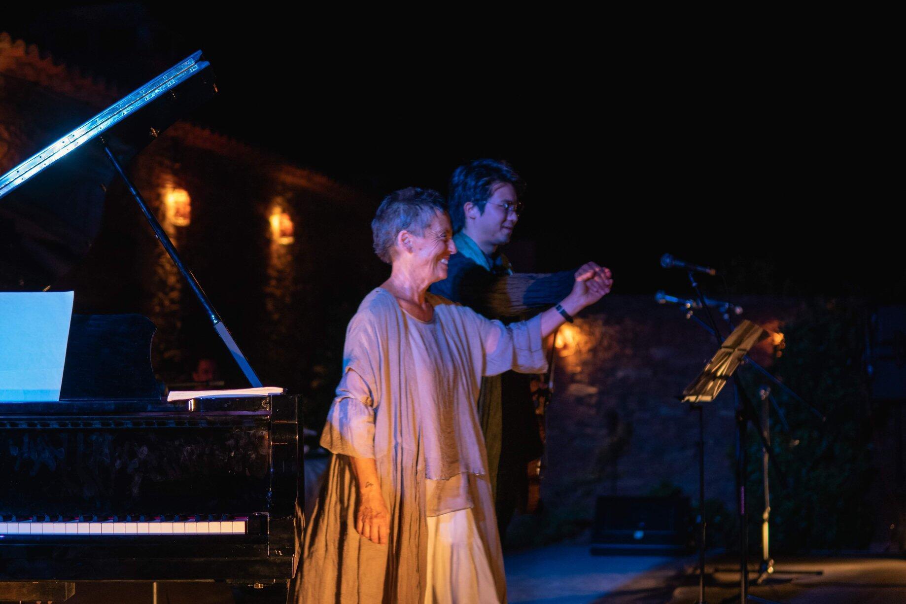 Maria João Pires em concerto no Centro de Artes de Belgais