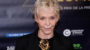 La réalisatrice Tonie Marshall a obtenu le César de la meilleure réalisation. Ici, en février 2018, lors des 23e Lumières Awards à Paris.