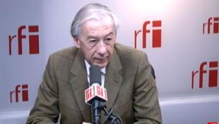 Axel Poniatowski , député UMP du Val-d'Oise, vice-président de la commission des Affaires étrangères à l'Assemblée nationale.