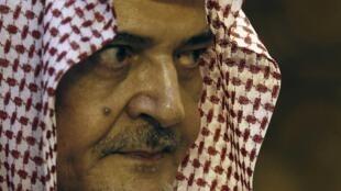 Le prince Saoud al-Fayçal, ancien chef de la diplomatie saoudienne.