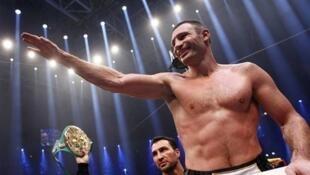 Vitali Klitschko Dan uwan Wladimir Klitschko Zakaran Damben Boxing ajin masu nauyi