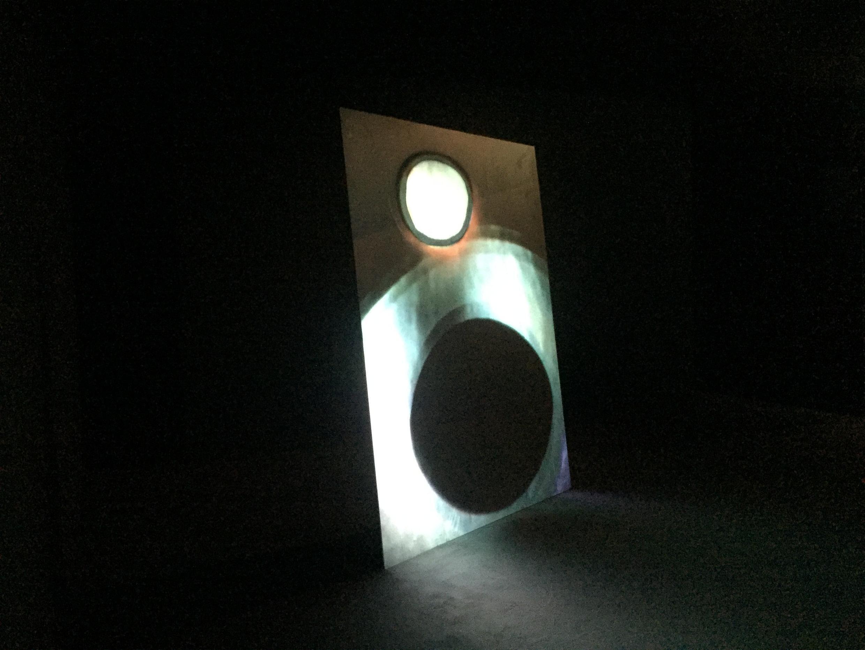 """Uma das obras da exposição """"Métal Hurlant"""". Paris. 12 de Março de 2019."""