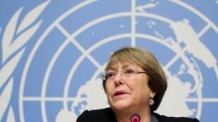 聯合國人權事務高級專員巴切萊特資料圖片