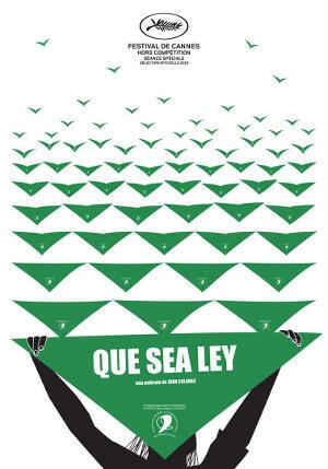 """""""Que sea ley"""" fue proyectado en Cannes."""