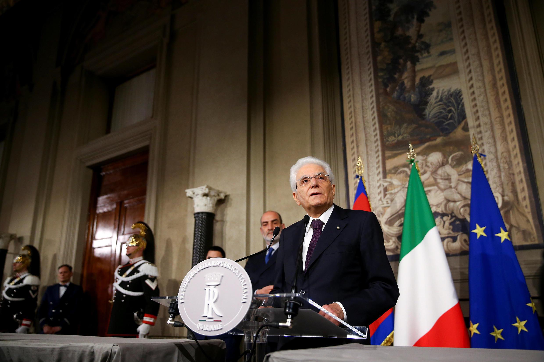 """سخنرانی """"Sergio Mattarella"""" رئیس جمهوری ایتالیا، در رم. یکشنبه ۶ خرداد/ ٢٧ مه ٢٠۱٨ ."""