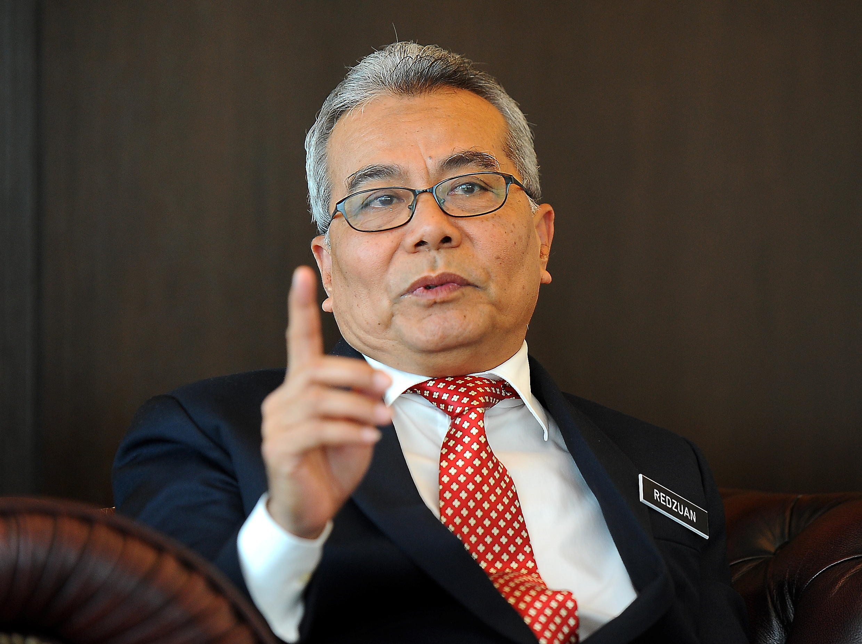 马来西亚总理府部长尤索福资料图片