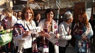 Des Femmes du Mur, à Jérusalem, le 12 mars 2012.