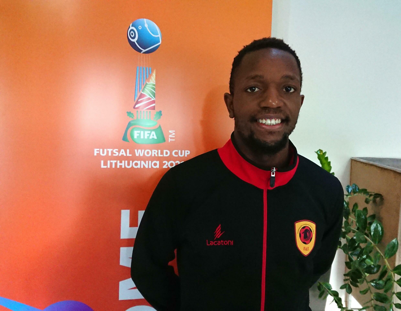 Angola - Futsal - Selecção Angolana - FIFA - Mundial - Lituânia - Toni