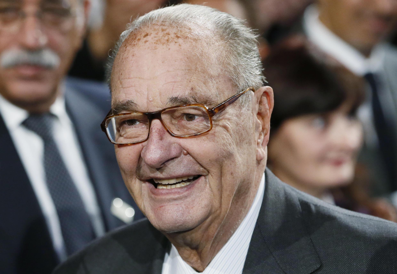 Jacques Chirac, ex-presidente francês. 21/11/2014