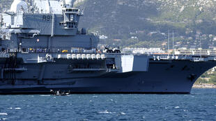 French aircraft carrier Charles de Gaulle was deployed in the Persian Gulf on Monday as part of the US-led coalition against the Islamic State organisation in Iraq.