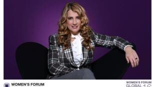 Karla Mawcinitt, miembro del consejo de Women's Forum México. Deauville, diciembre de 2016.