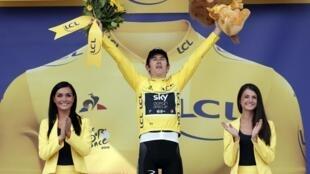 Chiến thắng ở chặng đua cá nhân thứ 20, ngày 28/07/2018, tay đua người Anh Geraint Thomas giành áo Vàng chung cuộc đăng quang Tour de France 2018