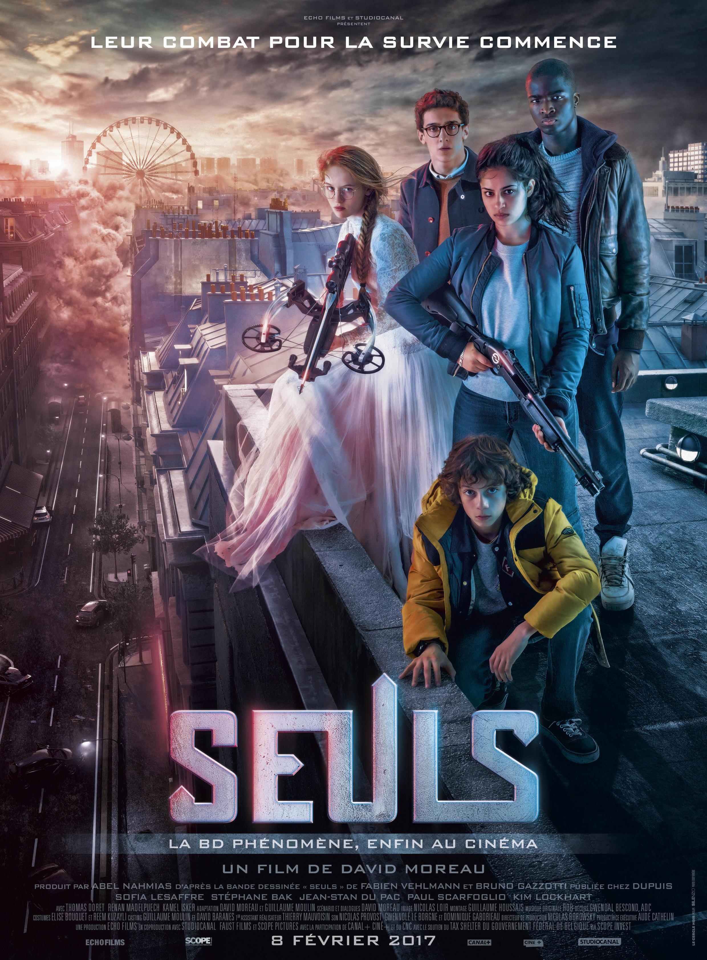 La BD à succès «Seuls» enfin adaptée au cinéma par le réalisateur David Moreau.