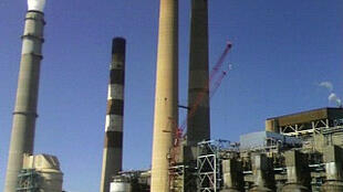 Shale oil refining in Big Bend Power Station in Apollo Beach, Florida, USA