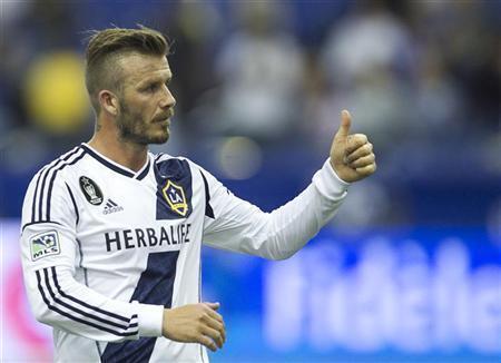 David Beckham anunciou que vai deixar o L.A. Galaxy.
