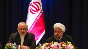 نشست خبری حسن روحانی- رئیس جمهوری اسلامی ایران، با مطبوعات محلی نیویورک. سه شنبه اول مهر/ ٢٣ سپتامبر ٢٠١٤