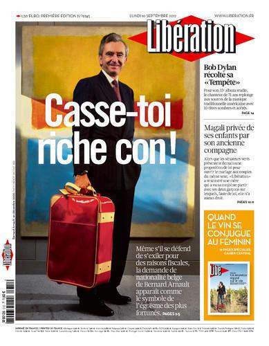 法国《解放报》9月10日头版