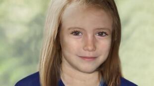 A garota Madeleine McCann, em imagem produzida por computador que imagina como seria sua aparência às vésperas de completar nove anos.