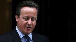 El primer ministro británico David Cameron, el 11 de abril de 2016 en Londres.