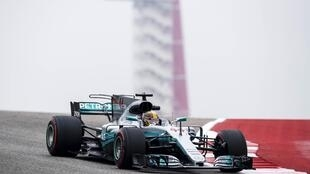 Mercedes driver Lewis Hamilton won the 72nd pole position of his career at the US Grand Prix.
