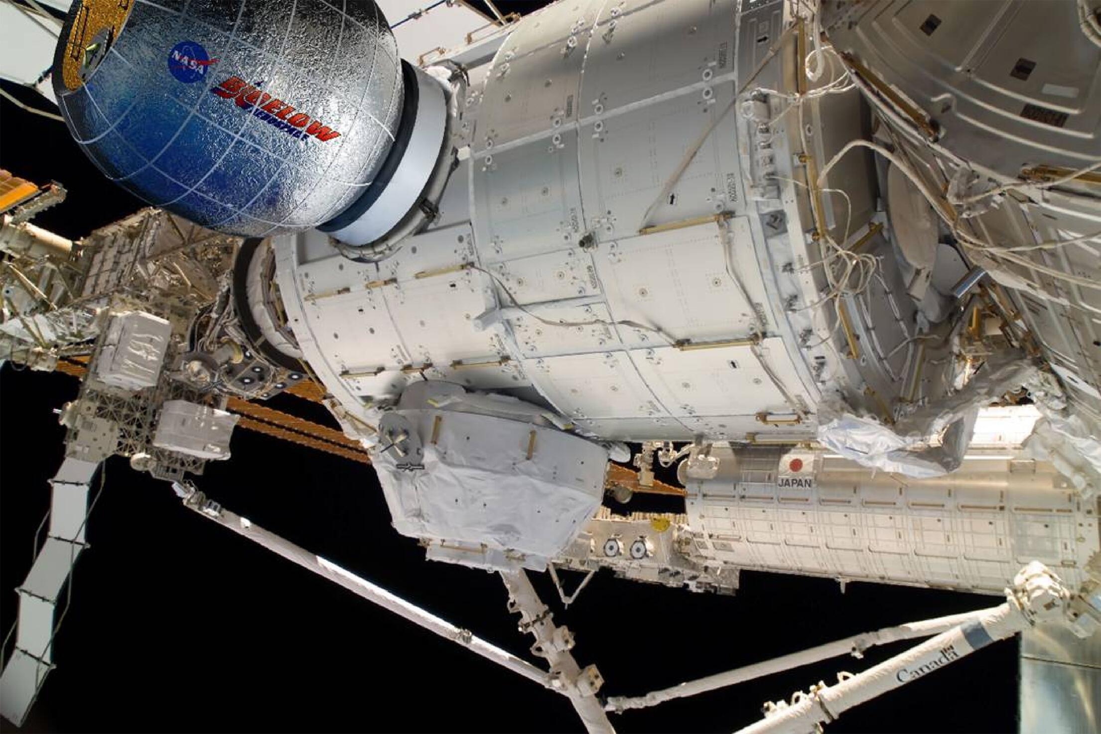 La Station spatiale internationale (ISS) a un problème de panneaux solaires à résoudre.