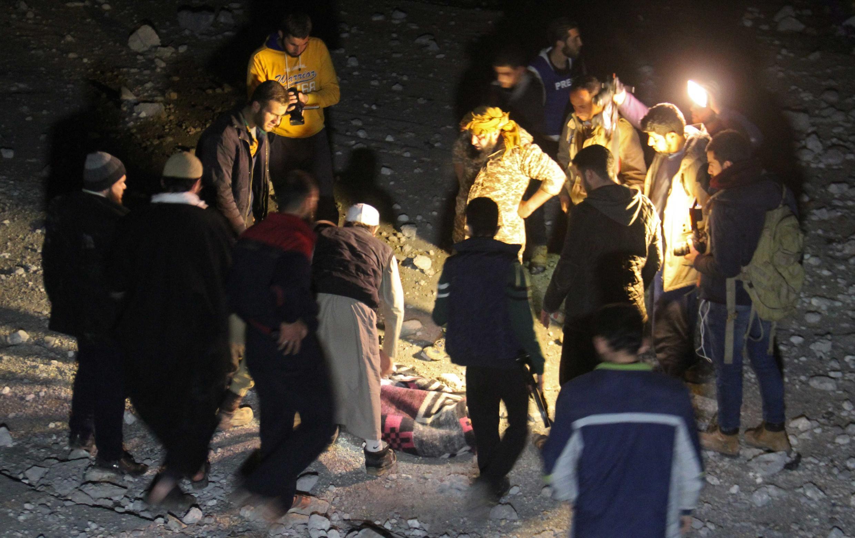 Ataque aéreo contra mesquita fez pelo menos 46 mortos no dia 16 de Março de 2017.
