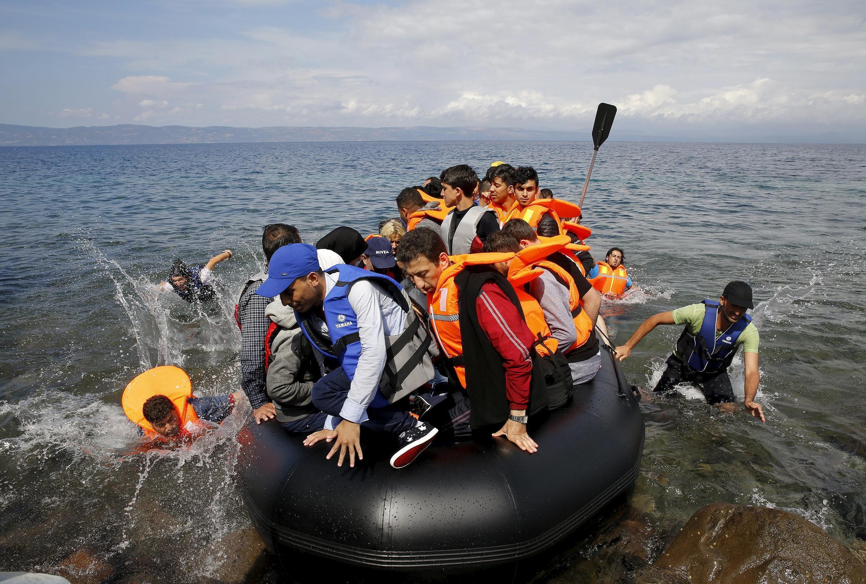 Migrantes: recorde de quase um milhão em 2015