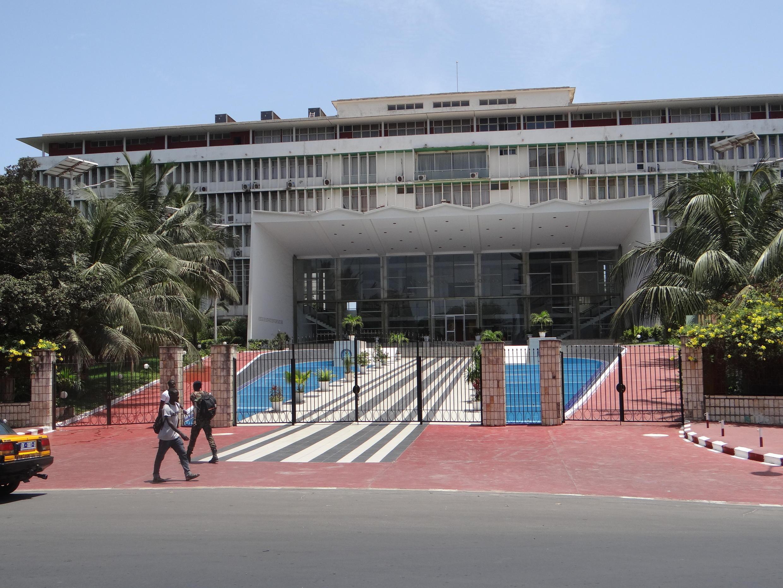 La devanture de l'Assemblée Nationale du Sénégal à Dakar. (Image d'illustration)
