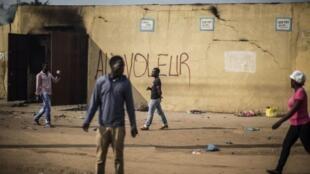 Libreville, le 1er septembre, au lendemain de l'annonce des résultats de l'élection présidentielle. Le candidat de l'opposition Jean Ping conteste toujours les résultats.
