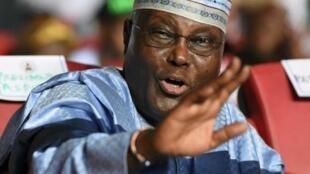 Dan takarar shugabancin Najeriya na babbar jam'iyyar adawa ta PDP Atiku Abubakar.