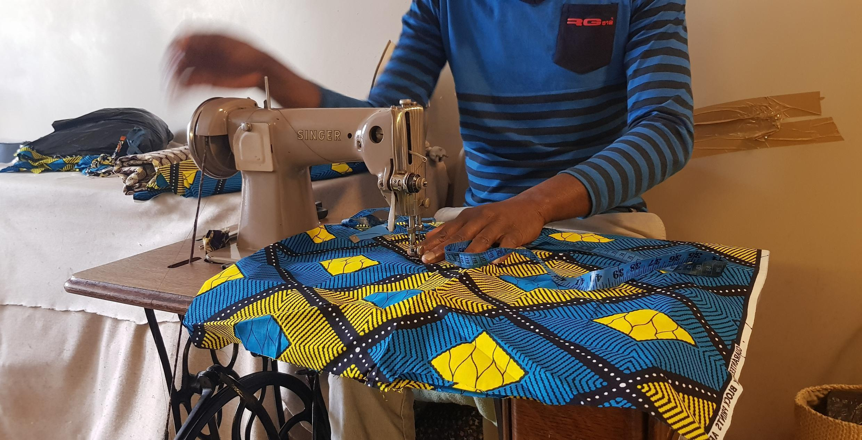 2020-04-16 France Paris Tailor Africa textile undocumented worker