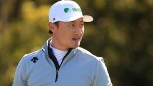 Le Chinois Haotong Li lors du 2e tour du Championnat PGA le 7 août 2020 à San Francisco