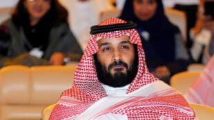 El príncipe saudita Mohamed bin Salman el 24 de octubre de 2017 en Riad.