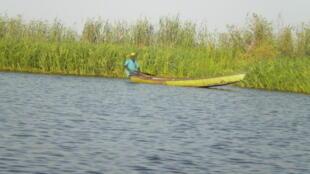 Jadis, le Lac Tchad s'étendait sur plusieurs kilomètres carrés...