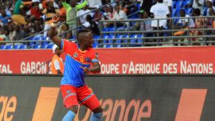Le Congolais Paul-José Mpoku lors de la CAN 2017.