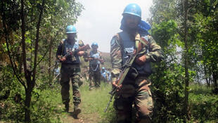 askari wa kikosi cha kulinda amani nchini DRC MONUSCO,wakiwa katika operesheni zao