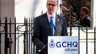 英国情报机构政府通信总部(GCHQ)主任弗莱明资料图片