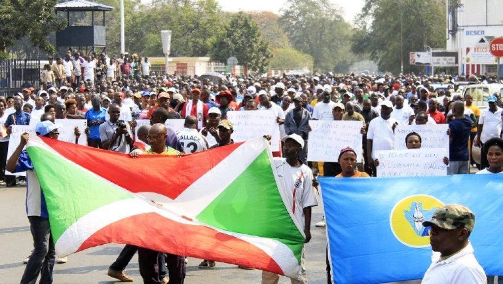 Manifestation du 30 juillet 2016 à l'initiative des autorités burundaises contre la France et l'ONU.