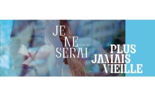 Affiche de la pièce «Je ne serai plus jamais vieille» de Fabienne Périneau, interprétée par Christine Citti.