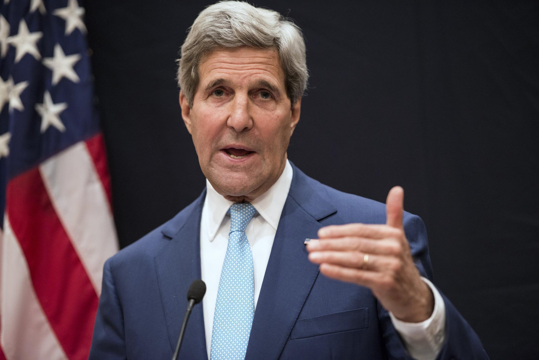 Глава американской дипломатии Джон Керри