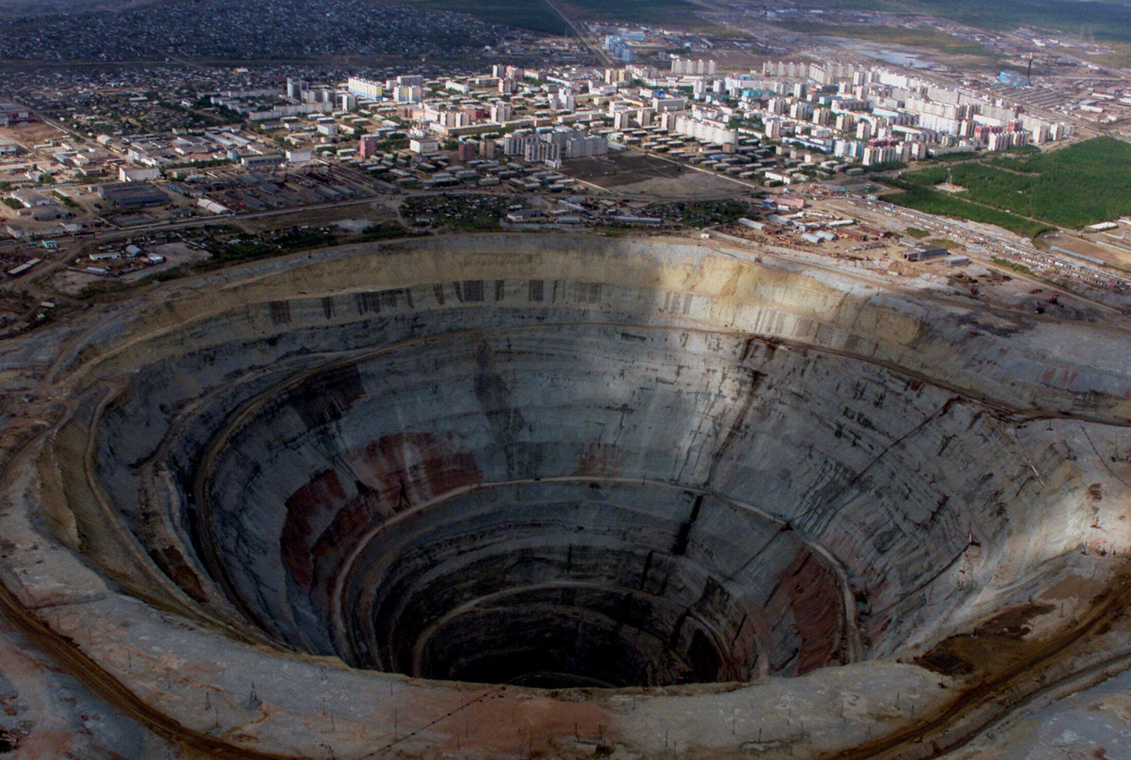 Une mine de diamant.