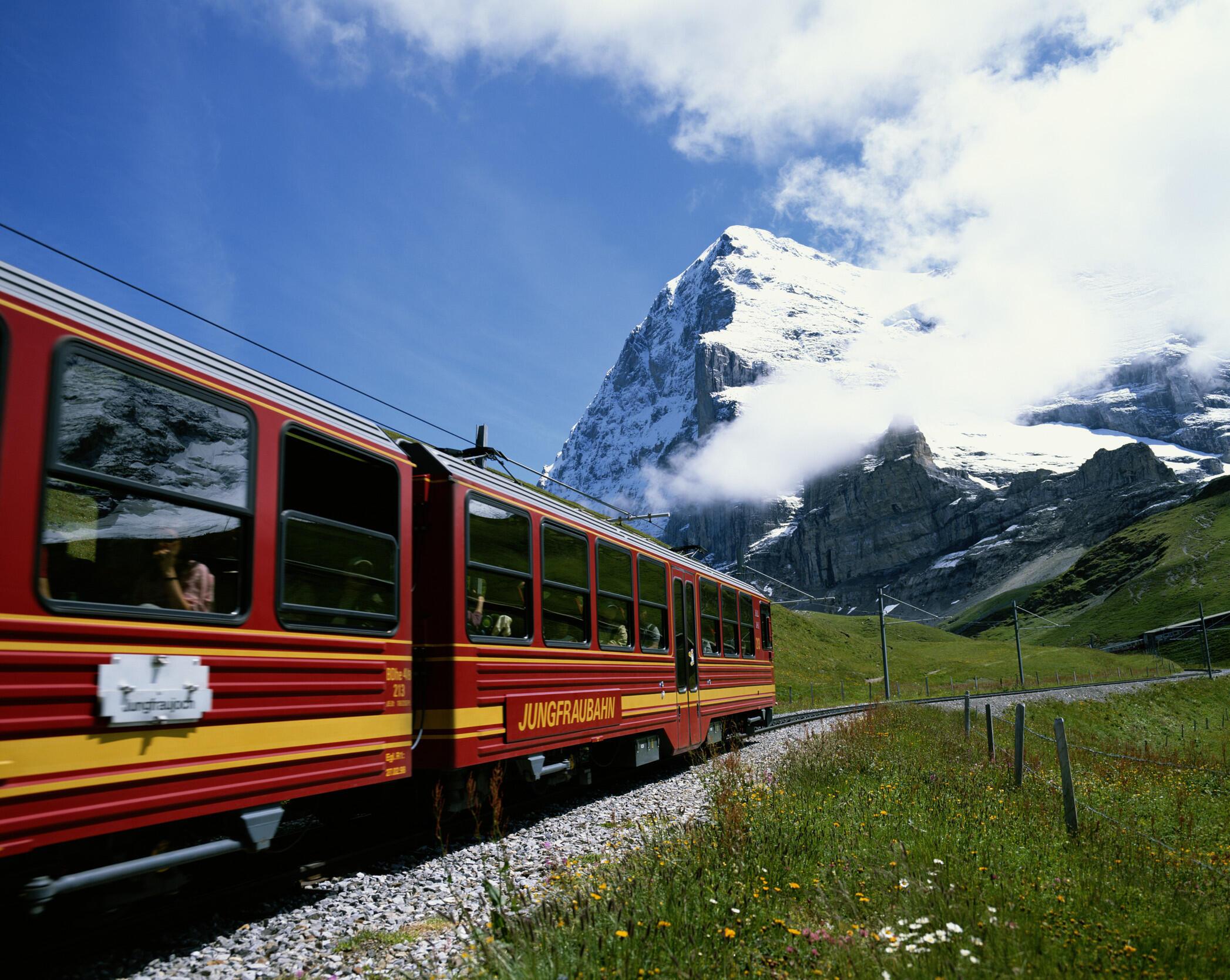 Le réseau de chemins de fer suisse est l'un des plus anciens et des plus denses d'Europe,