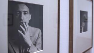 Portrait de Jean Cocteau photographié par Germaine Krull.