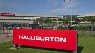 Logótipo da empresa norte-americana Halliburton, cujos trabalhadores em Angola estão em greve desde 16 de Dezembro
