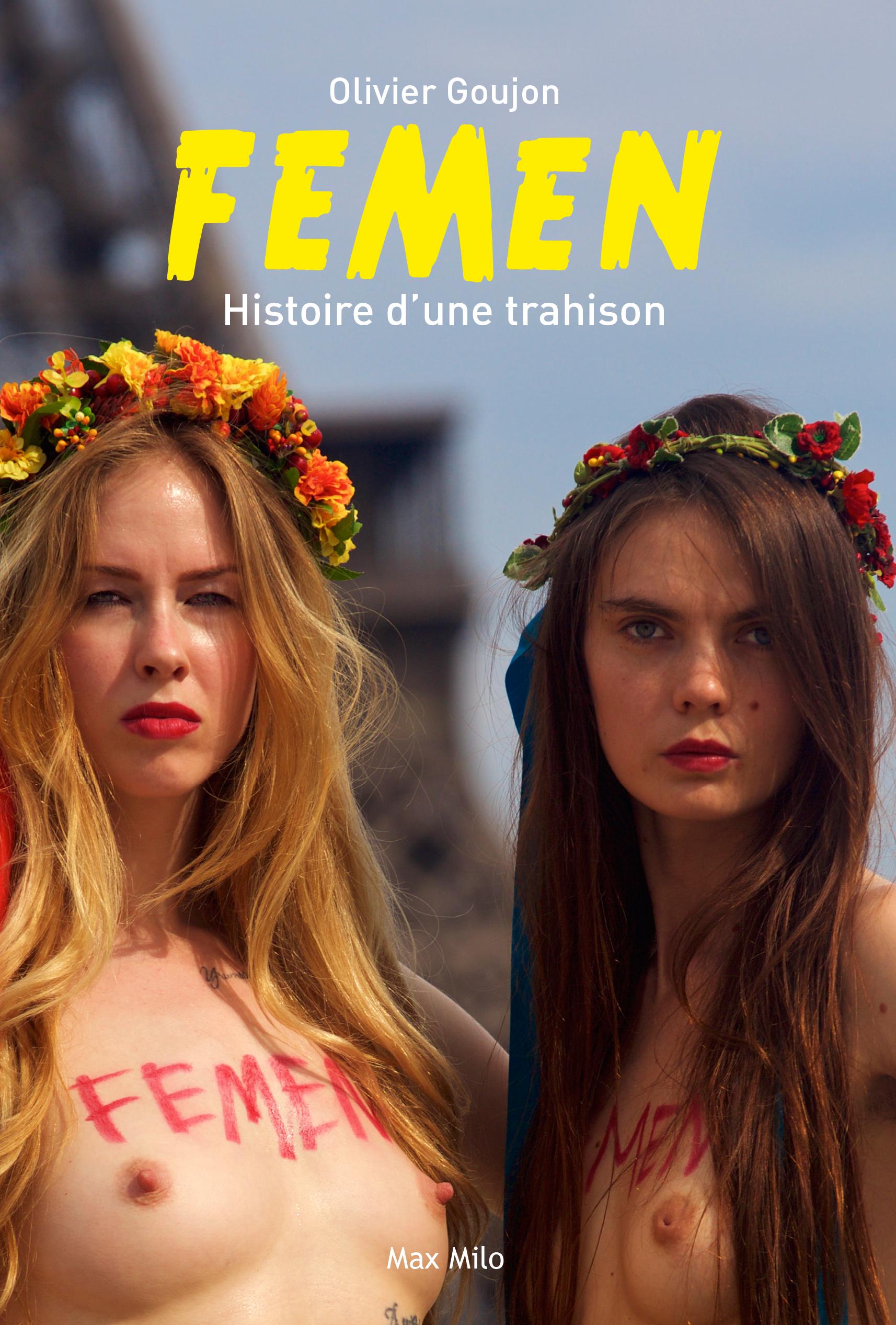 Обложка книги «Фемен, история предательства»