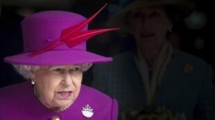 Elizabeth II, Malkia wa Uingereza, hapa katika mji wa Plymouth, mwezi Machi mwaka 2015.
