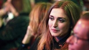 Julie Gayet at the 39th Cesar Awards ceremony in Paris last month