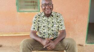 Alain Gouba, spécialiste en agriculture durable pour l'ONG Terre Verte au Burkina Faso.