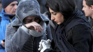 Sobreviventes do ataque contra a casa noturna Reina, em Istambul