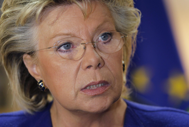 La vice-présidente de la Commission européenne Viviane Reding, le 29 septembre 2010.